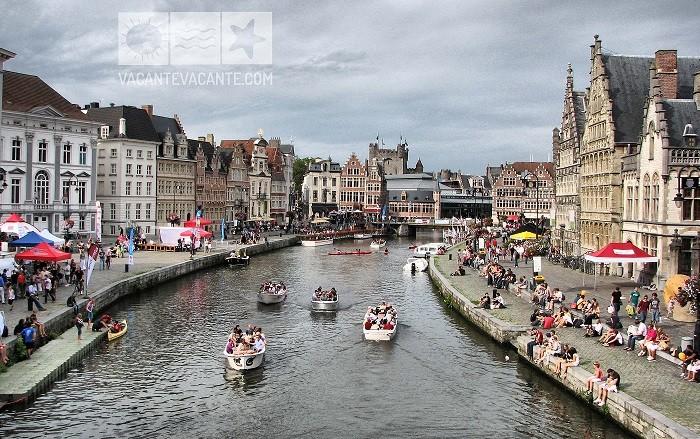 Gent, orasul perfect pentru turistul satul de aglomeratie