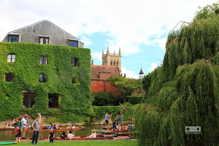 Cambridge plimbare cu barca