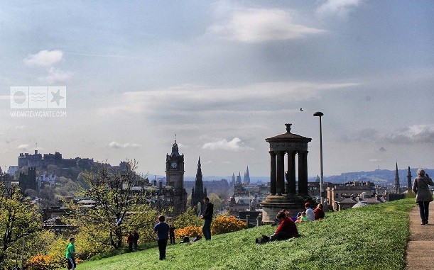 Prima oară în Scoția: Edinburgh