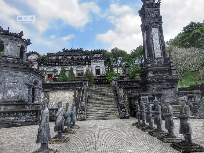 hue, vietnam, Khai Dinh tomb
