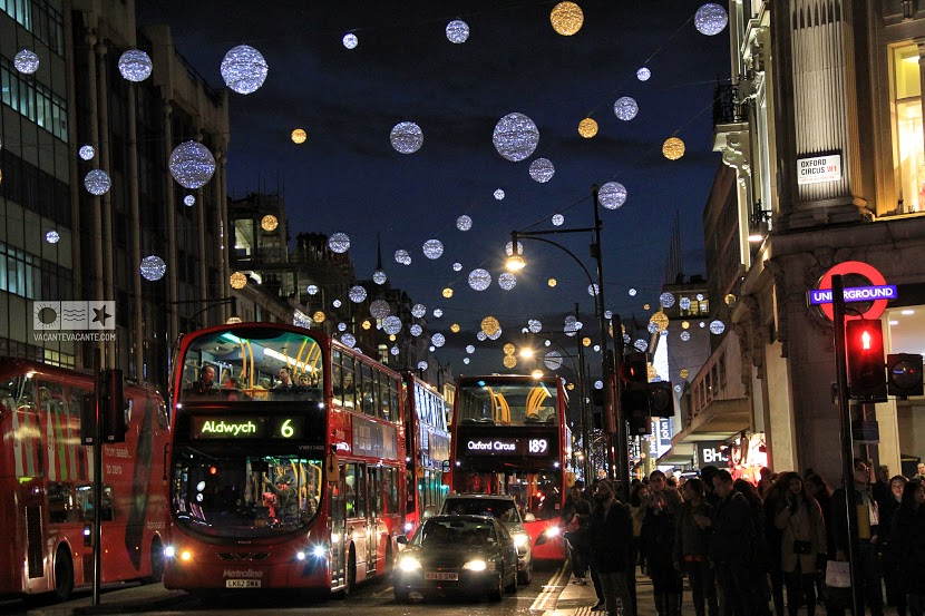 londra,oxford street, craciun