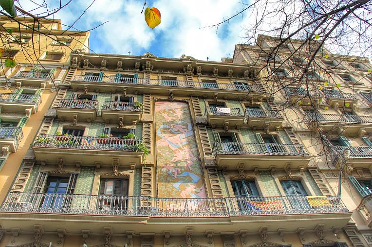 barcelona, cladiri