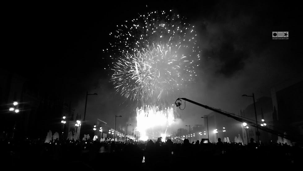 barcelona, foc de artificii
