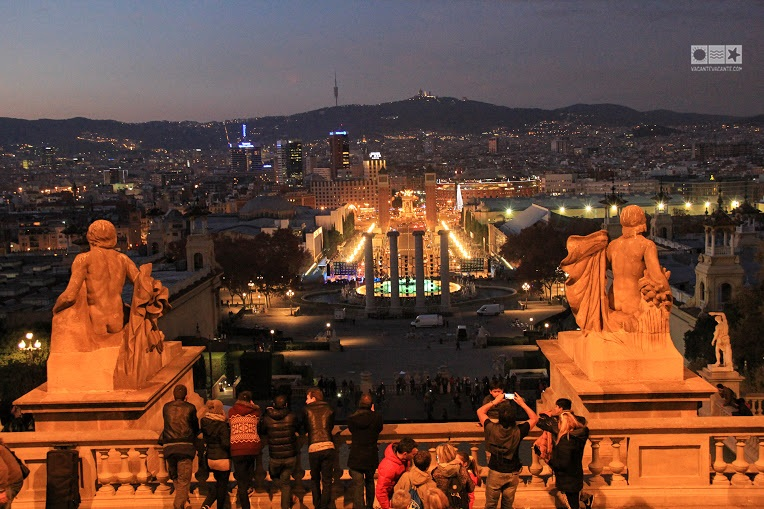 barcelona, piata spania