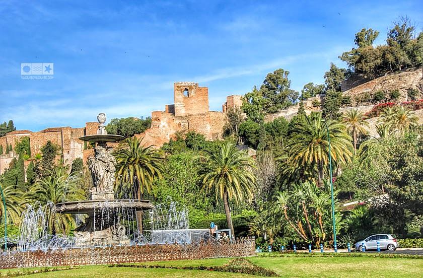 Malaga, cetatea maura