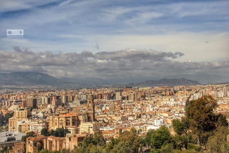 Malaga, vedere de sus
