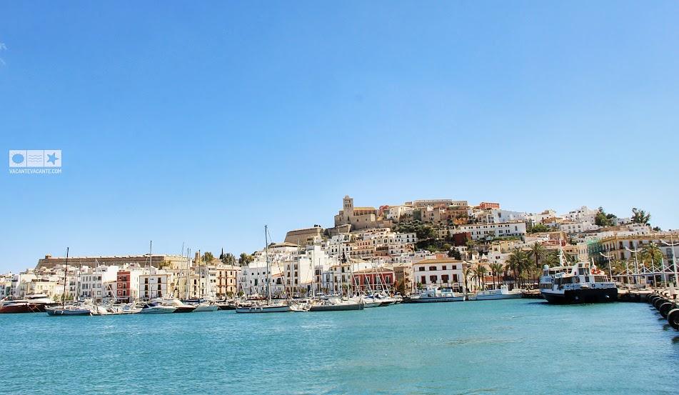 portul din Ibiza town