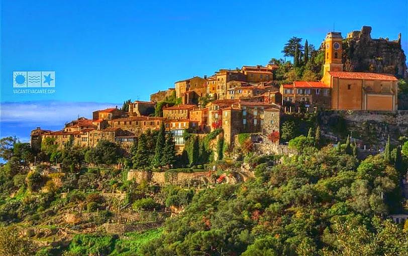 Coasta de Azur: Eze și La Turbie