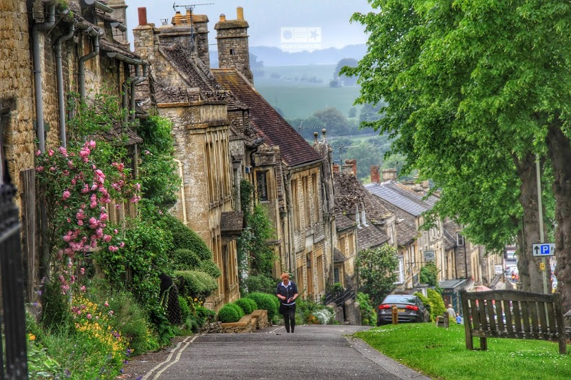 Cotswolds, Provence a Angliei