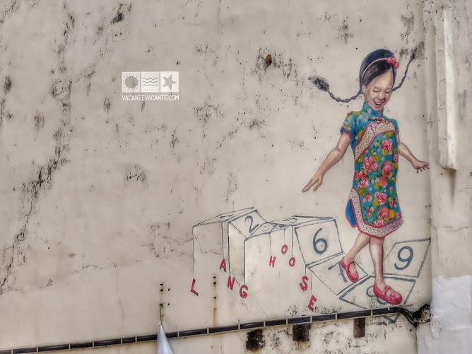 malaysia, mural paintings
