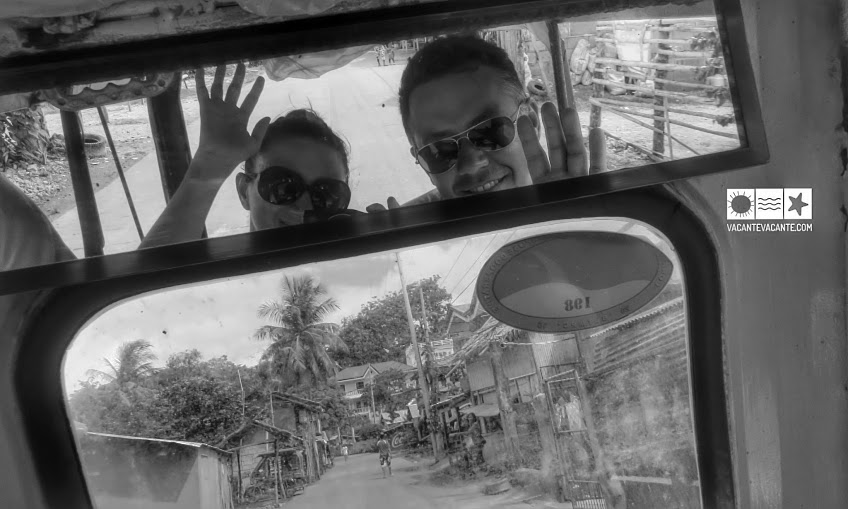 cu tricicleta prin Boracay