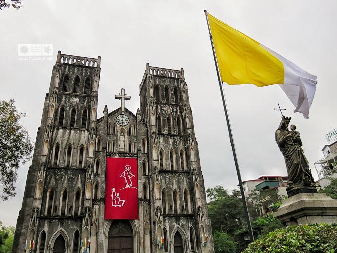 hanoi, catedrala