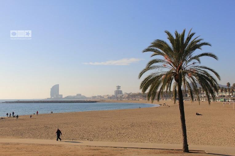 barcelona, plaja