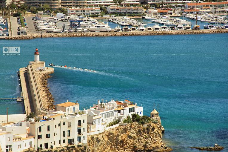 Ibiza town, port